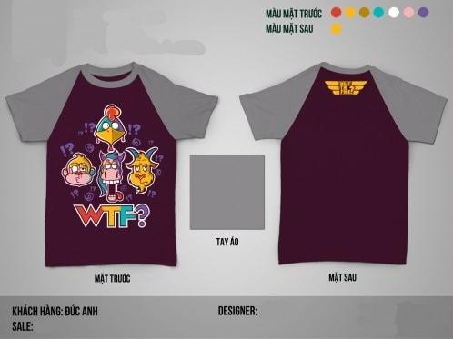 Mẫu áo lớp WTF