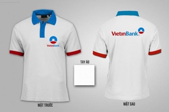 Mẫu áo NH Vietinbank Cần Thơ