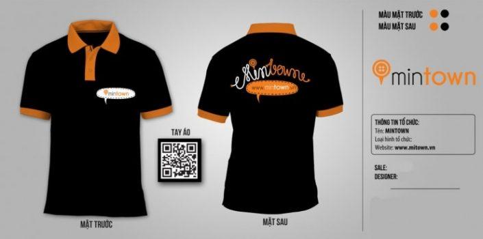 Mẫu áo dịch vụ MinTown